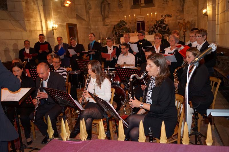 Concert Harmonie Chorale de Brinon Noel 2012