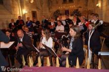 Concert de l'Harmonie Chorale de Brinon en 2012